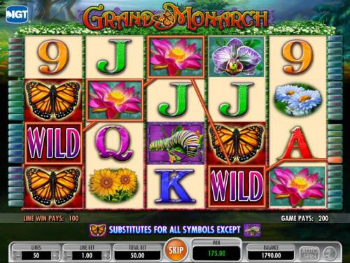 Grand Monarch Review Slots another 200 coin big win jackpot