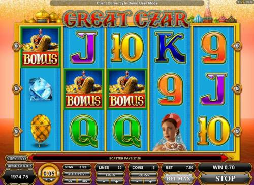Great Czar review on Review Slots