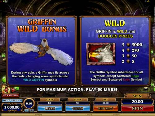 Great Griffin review on Review Slots