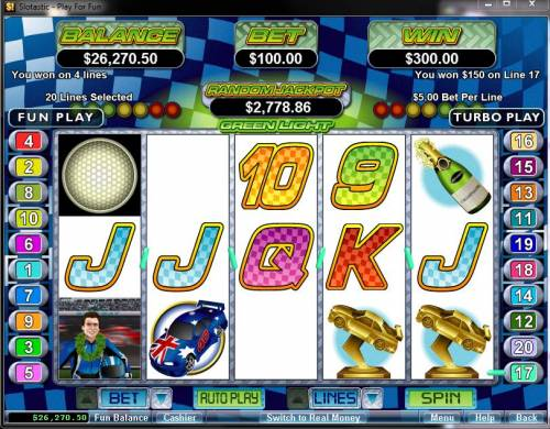 Green Light review on Review Slots