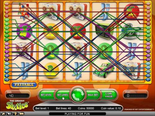 Groovy Sixties Review Slots pay lines
