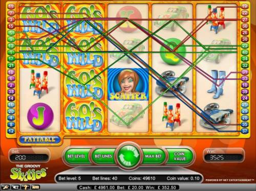 Groovy Sixties Review Slots 3525 jackpot payout