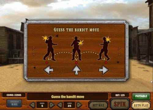 Gunslinger Review Slots guess the bandits next move