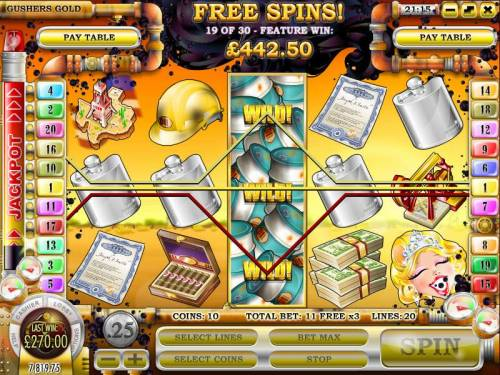 Gushers Gold review on Review Slots