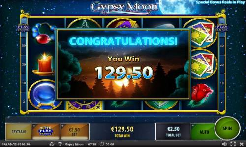 Gypsy Moon review on Review Slots