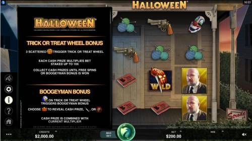 Halloween Review Slots Trick or Treat Wheel Bonus Rules