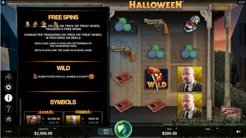 Halloween Review Slots Free Spins Bonus Game Rules