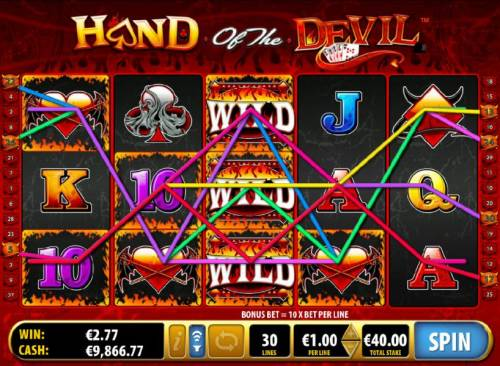 Hand of the Devil review on Review Slots