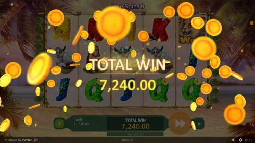 Happy Jungle Review Slots Total Free Spins Payout