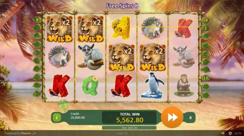 Happy Jungle Review Slots Multiple winning paylines