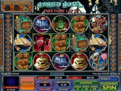 Haunted Hotel review on Review Slots
