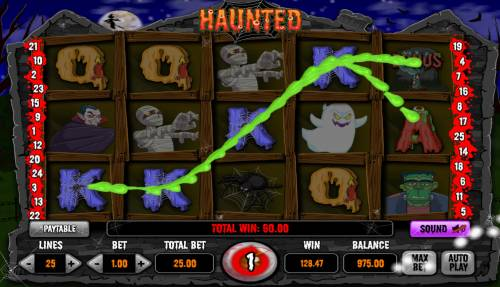 Haunted Review Slots Four of a kind