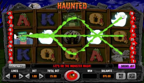 Haunted Review Slots Multiple winning paylines