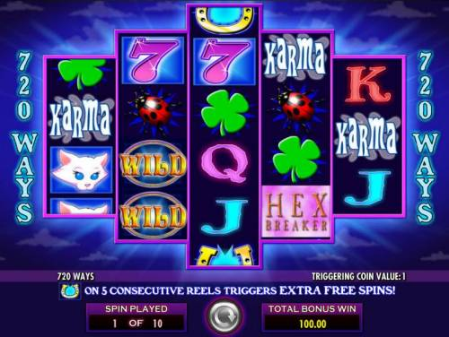 Hex Breaker 2 Review Slots Free Spins Game Board