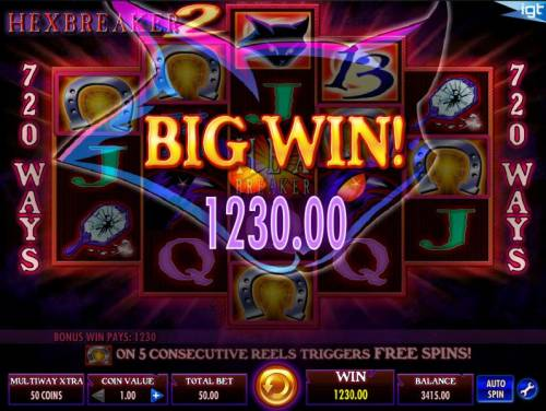 Hex Breaker 2 Review Slots The free spins feature awards a total of 1,230.00