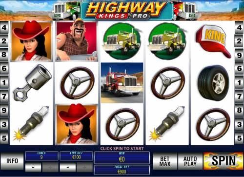 Highway Kings Pro Review Slots Main Game Board