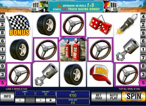 Highway Kings Pro Review Slots A winning five of a kind