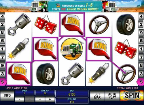 Highway Kings Pro Review Slots Four of a kind
