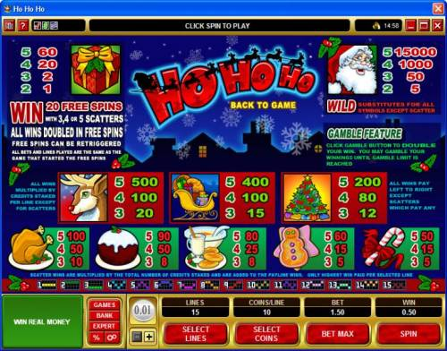 Ho Ho Ho review on Review Slots