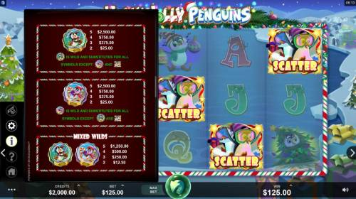 Holly Jolly Penguins Review Slots Wild Symbol Rules