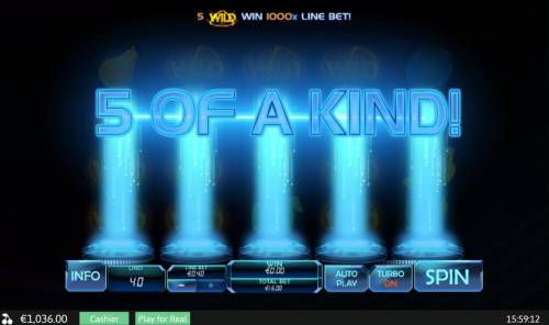 Hologram Wilds Review Slots Five of a Kind
