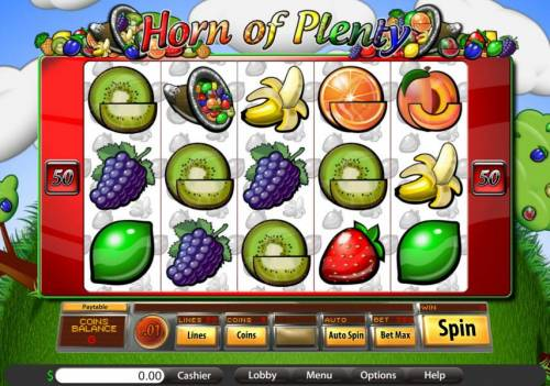 Horn of Plenty review on Review Slots