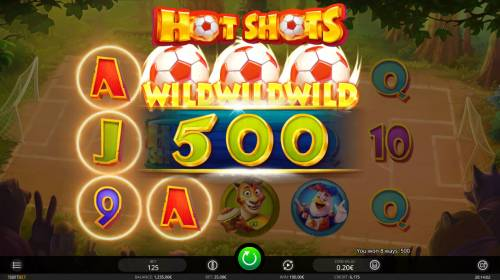 Hot Shots Review Slots Multiple winning combinations
