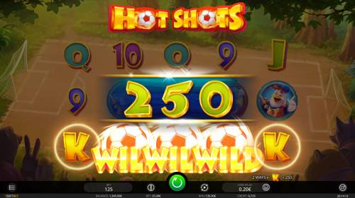 Hot Shots Review Slots A winning five of a kind