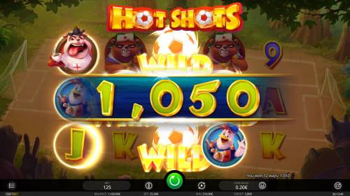 Hot Shots Review Slots Multiple winning paylines triggers a big win