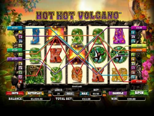 Hot Hot Volcano review on Review Slots
