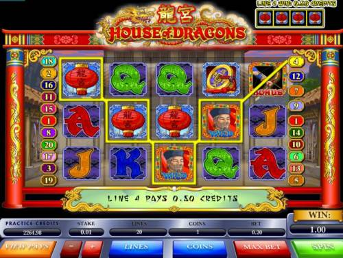 House of Dragons Review Slots Wild Hit