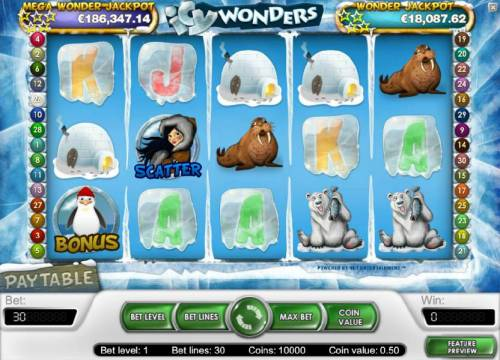 Icy Wonders review on Review Slots