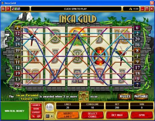 Inca Gold review on Review Slots