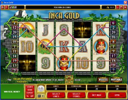 Inca Gold Review Slots