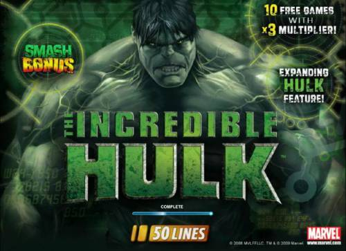 The Incredible Hulk 50 Lines review on Review Slots