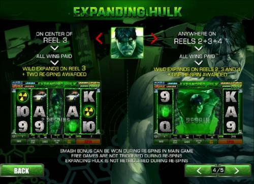 The Incredible Hulk 50 Lines Review Slots expanding hulk feature
