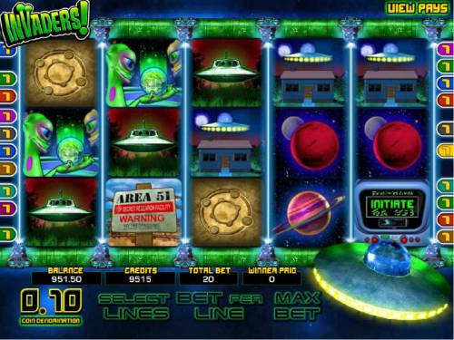 Invaders review on Review Slots