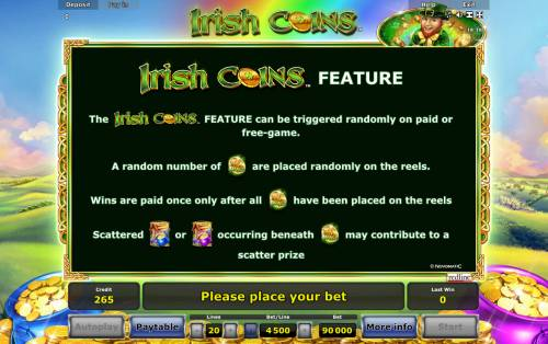 Irish Coins review on Review Slots