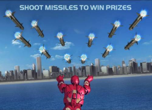Iron Man Review Slots shoot missles to win prizes