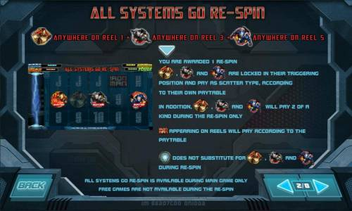 Iron Man 3 Review Slots all systems go re-spin feature rules