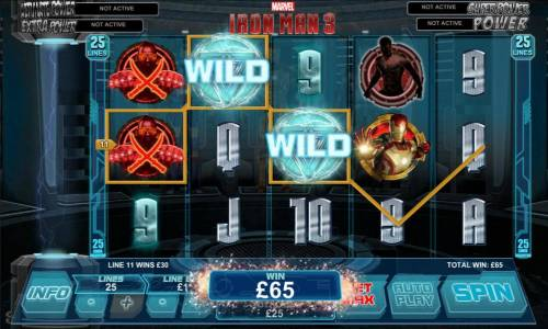 Iron Man 3 Review Slots four of kind triggers 65 coin jackpot
