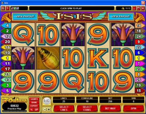 Isis review on Review Slots