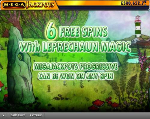 Isle of Plenty Review Slots 6 Free Spins with Leprechaun Magic awarded.