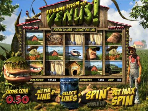 It Came From Venus review on Review Slots