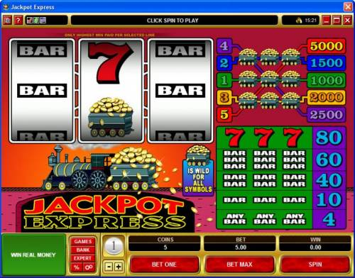 Jackpot Express review on Review Slots
