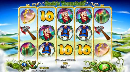 Jack's Beanstalk review on Review Slots