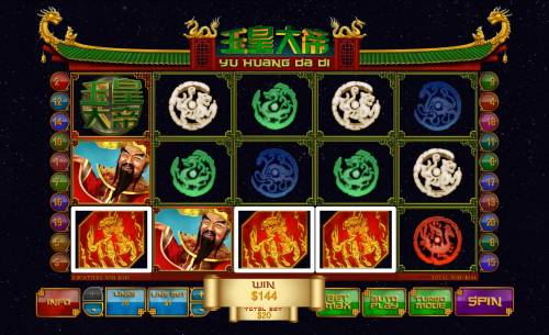 Jade Emperor Review Slots Four of a kind