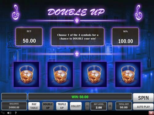 Jazz of New Orleans Review Slots Double Up Gamble Feature Rules