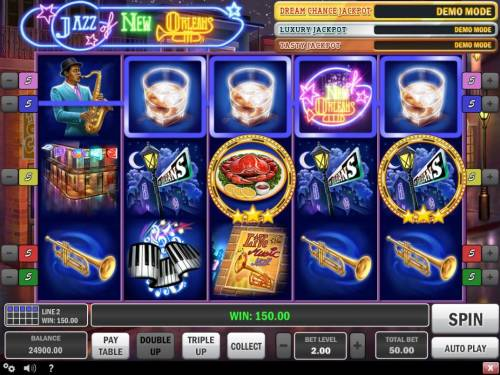 Jazz of New Orleans Review Slots A winning Four of a Kind