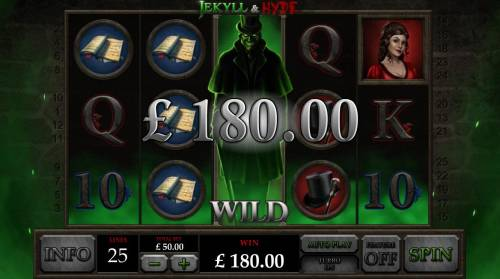 Jekyll & Hyde Review Slots Multiple winning paylines triggers a big win!